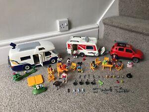 Playmobil Summer Fun Family Bundle 4859 5434 5436 Camper Car Caravan Accessories Ebay