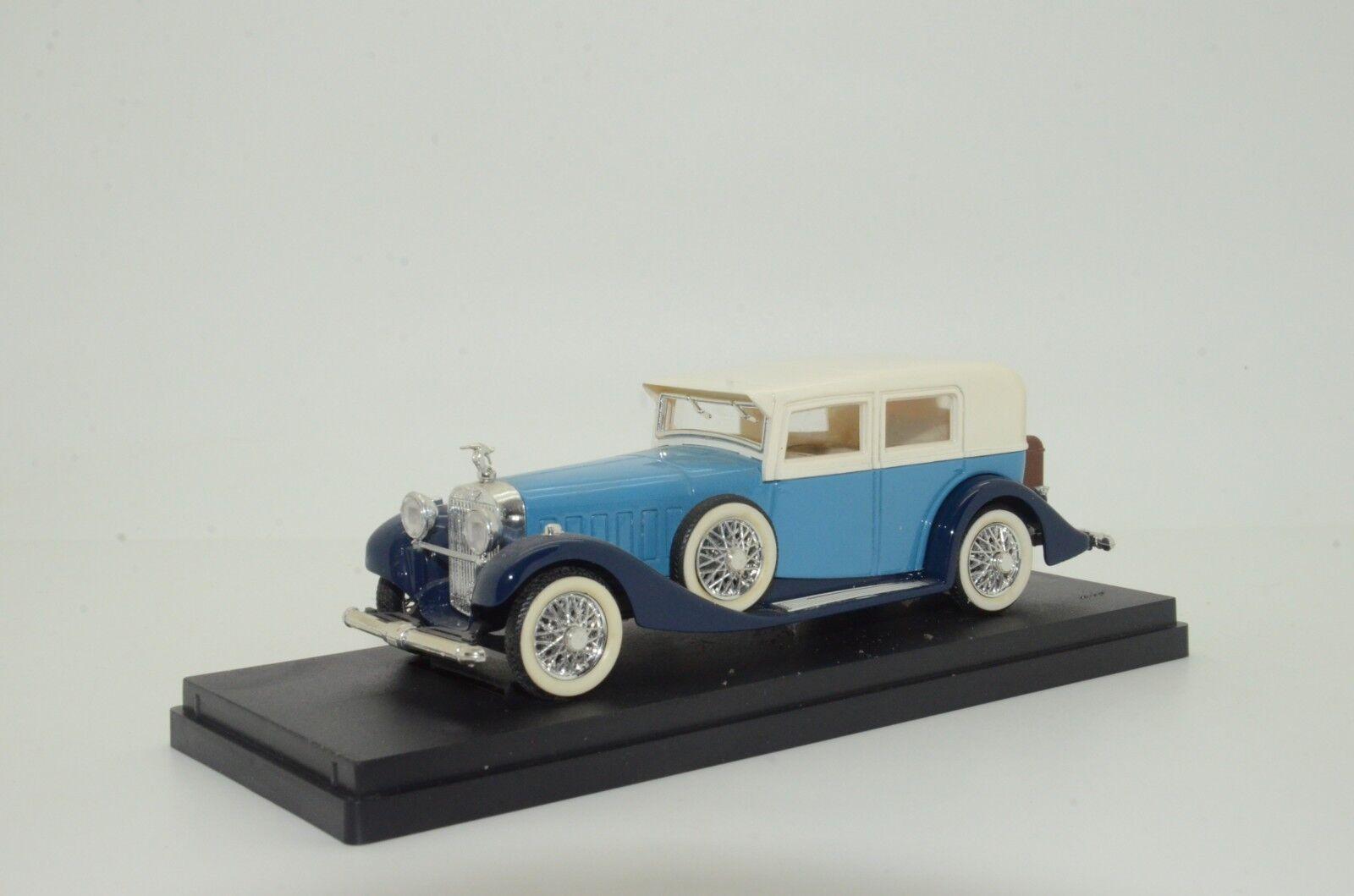 RARE  Hispano Suiza V-12 Limousine 1932 Rio 65 1/43