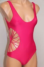 NWT Cami and Jax Savannah One Peace Maillot Swimsuit size S Hibiscus