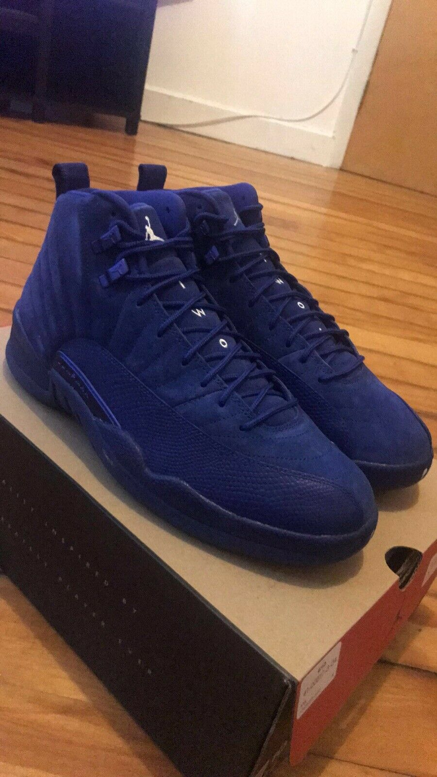 "Jordan Retro 12 ""Deep bluee"""