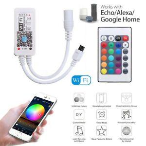WIFI-RGB-RGBW-LED-Controller-per-strisce-LED-3528-5050-LUCE-Alexa-Google-Home