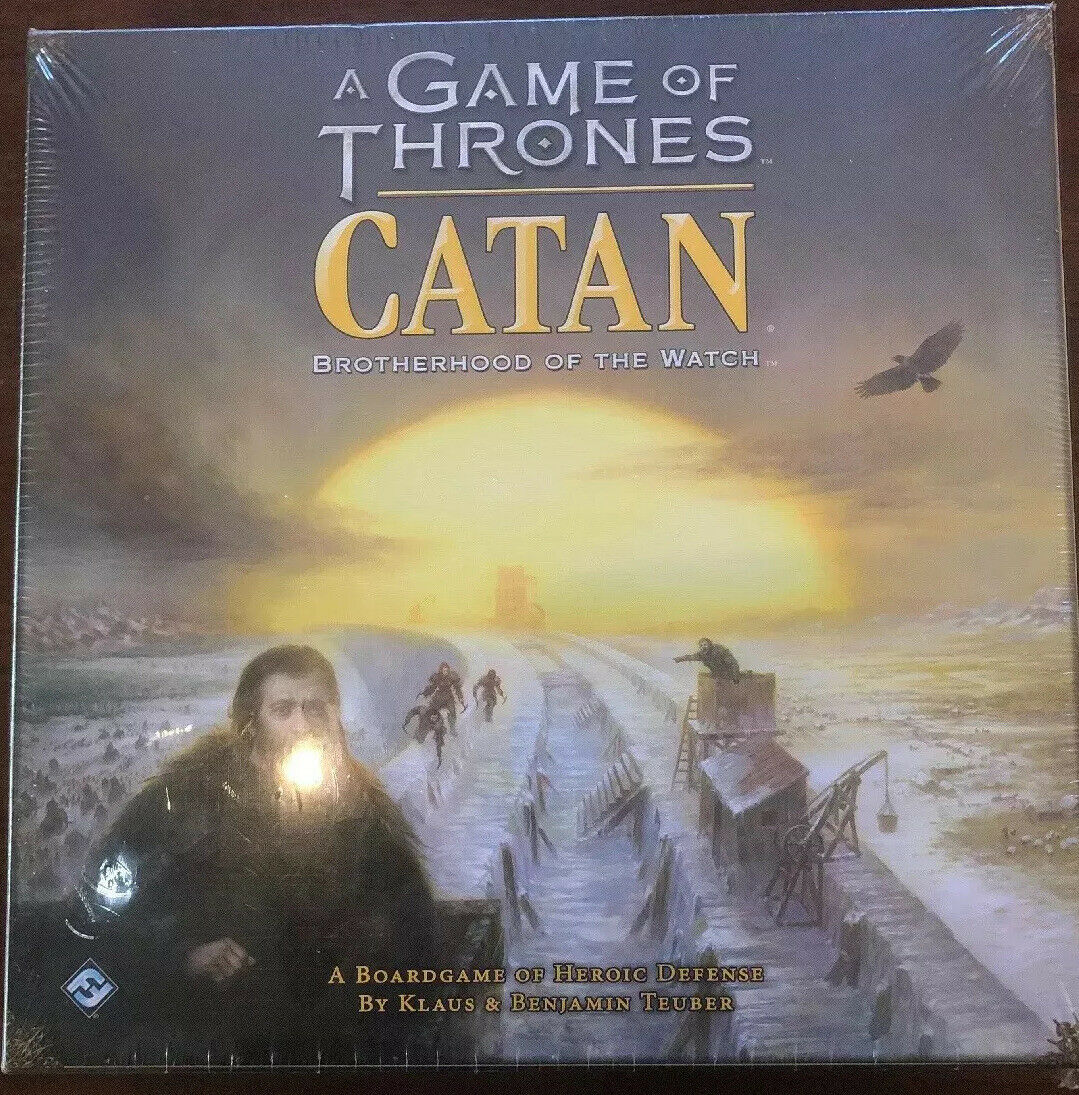 Settlers of Catan Game of Thrones  Brotherhood of the Watch  Game NEW SEALED