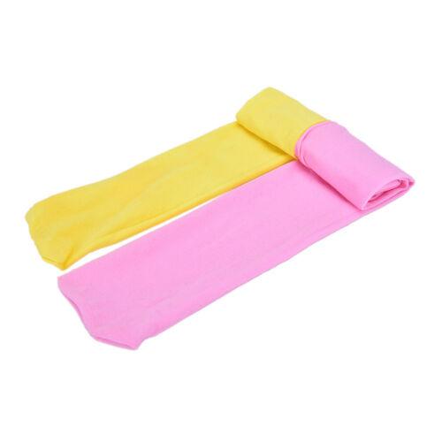 Girls Kids Children Winter Velvet Leggings Solid Candy Color Pant Trousers 3C