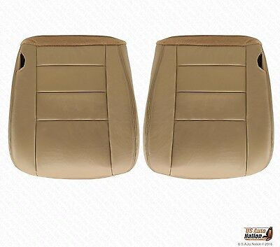 US Auto Nation 2002-2007 Fits Ford F-250 Harley Davidson Driver//Passenger Bottom Leather Seat Cover