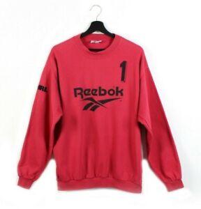 90s Reebok vintage sweatshirt goalkeeper keeper goalie HG Ingolstadt red M L