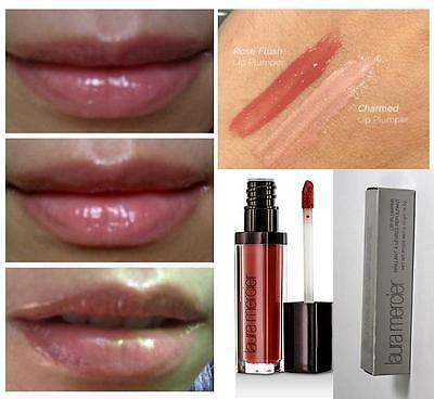 Laura Mercier Lip Plumpers Gloss 9pc Lot Rose Flush Full Sz 13 Each New In Box Ebay