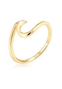 Ring Silber 925 Echtschmuck Geschenk Wellen Strand Meer Maritim Elli