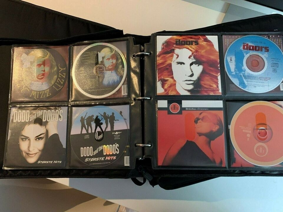 Diverese: 1000 CD'er fra 90 og frem, andet