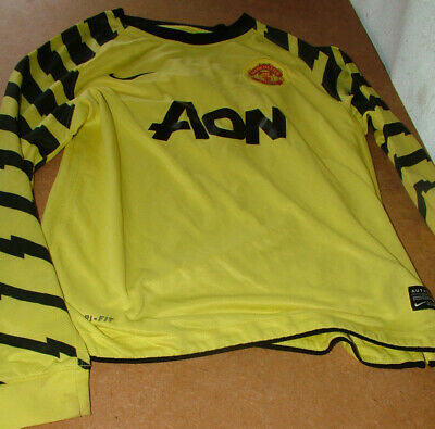 Manchester United Van Der Sar 1 Name//Number Set Football Shirt Lextra 07-13