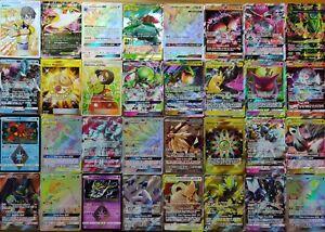 2 Cards GX o EX in inglese o italiano Lotto 30 Carte originali Pokemon TCG