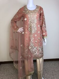 Pakistani Indian Designer Party Wear M
