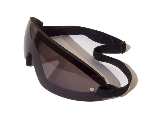Tinted UV400 ShatterProof Racing Jockey XC Cross Country Goggles FREE Pouch
