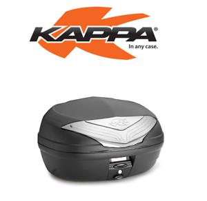 K466NT-KAPPA-BAULETTO-46L-NERO-CON-CATADIOTRI-FUME-UNIVERSALE-MOTO-SCOOTER