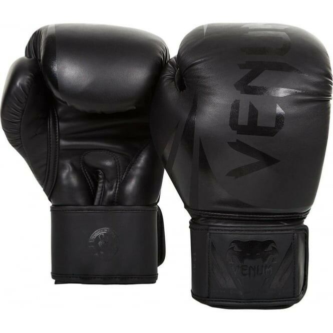 Venum Chtuttienger 2.0 Guantoni da pugilato Nero Opaco MMA Sparring Muay Thai 10oz