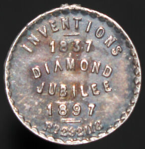 1837-97-inventions-Diamond-Jubilee-Medal-Argent-medailles-KM-Pieces