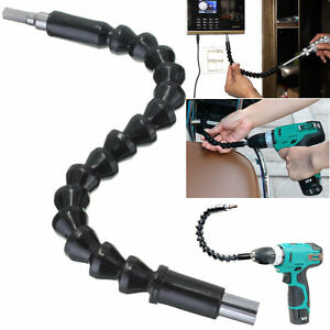 Flexible Shaft Electronic Drill Bit Extension Holder Connecting Link Tool New UK