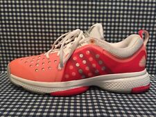 3a4a1f339ab29 Adidas Barricade Classic Bounce Women s Tennis Shoes US Size 9.5 Orange Red  Gray