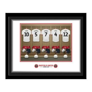 Sheffield United F.c - Personalised Dressing Room Photo-afficher Le Titre D'origine