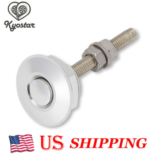"""1pc Push Button Quick Release BonnetHood Pins Lock 1.25/"""" 31.75mm Universal new"""