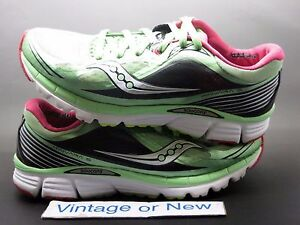 Details about Women's Saucony PowerGrid Kinvara 5 Mint Cherry Running Shoes S10238 5 sz 9.5