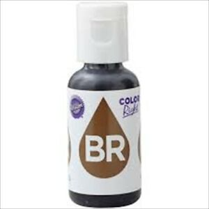 Wilton-Color-RIGHT-BROWN-BASE-Refill-Food-Colouring-Cake-Baking-Treats-19-ml-NEW