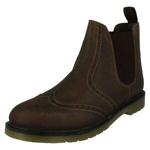 Chelsea On Mens Brown Trak Oak Boots Pull Belper wnqUAzpvIO
