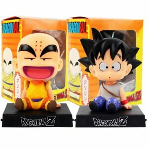 Dragon-Ball-Z-Phone-Holder-Son-Goku-Kuririn-Bobble-Head-Figures-Model-Kid-Toys