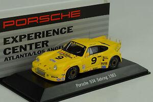 1983-PORSCHE-911-934-Sebring-9-experience-Center-Atlanta-1-43-SPARK-Museo