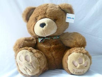 """(il Mio Orsacchiotto Teddy) 15"""" Seduta Nuovo Con Etichette-mostra Il Titolo Originale"""