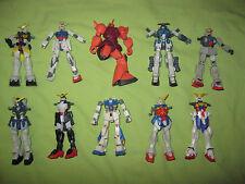 Bandai 2000 - 2003 MSIA Gundam ROBOT SPIRITS Lot of 10 Action Figures FOR PARTS