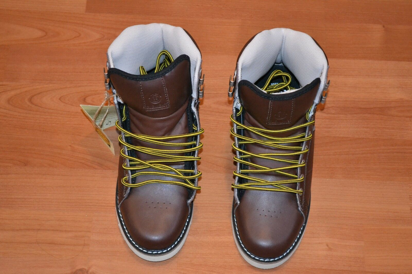 ELEMENT + MEN'S OMAHIGH + SIZE 8 + BROWN + LEATHER + BRAND NEW IN THE BOX