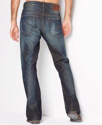 "G-Star Raw Mens Boys 3301 Boot Jeans 26/"" x 34/"" BNWT Fall Denim Vintage Aged"
