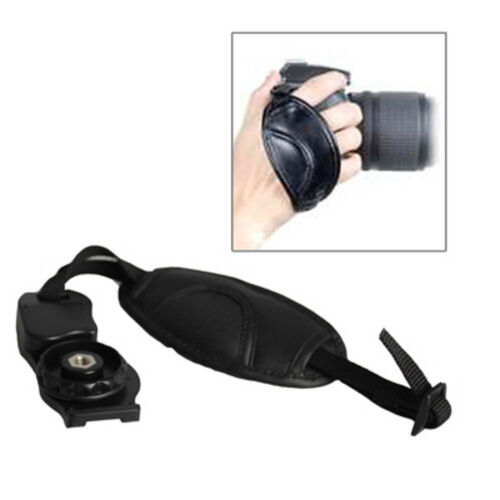 Universal Telecamera Hand Grip Strap e2 UK Venditore