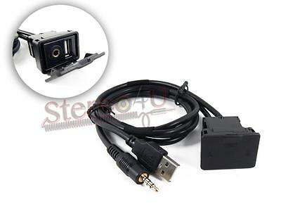 """27/"""" CABLE **NEW** 3.5mm AUX /& USB EXTENSION AX-USB-35EXT AXXESS METRA"""