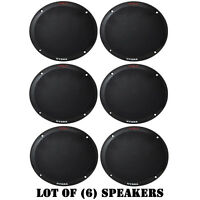 Lot Of (6) Pyle Plmr605b Full Range 2-way Dual 6.5'' Waterproof Marine Speakers on sale