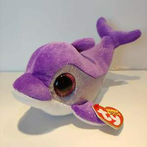 Flips-the-Purple-Dolphin-Ty-Beanie-Boo-Plush-Style-36712-Regular-6-15cm
