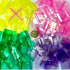 2 Mil 125125 125 X 125 Mini Zip Lock Color Bags 1000pcs 3 C Mix Or Choose