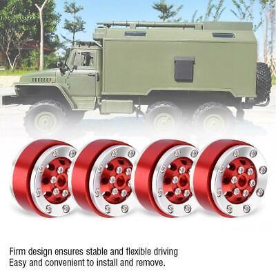 For 1//16 WPL RC Military Truck w// Screw Metal Upgrade Shock-proof Wheel Hub Rim