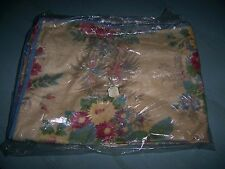 vintage new antique floral Roses cotton cushion cover for chair wicker STOR-AID