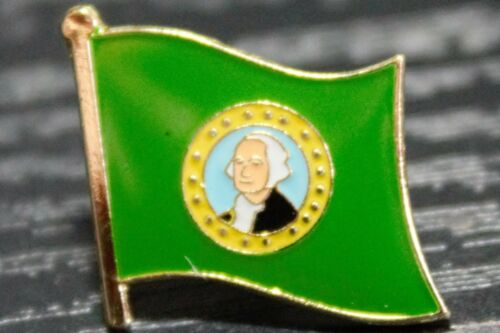 ** WASHINGTON ** STATE USA STATE Metal Lapel Pin Badge *NEW*