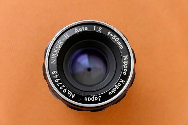 Nikon NIKKOR-H Auto 50mm F2 Non-AiLens