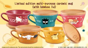 Sanrio Lowrys Farm Characters Ceramic Bowl Mug Cup Lid Cute Collection HK 7-11