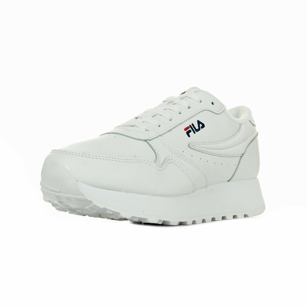 shoes Baskets Fila femme Orbit Zeppa L Wmns size white whitehe Cuir