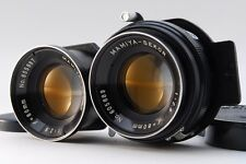 【B V.Good】Mamiya SEKOR 80mm f/2.8 TLR Lens for C220 C330 w/Caps From JAPAN #2736