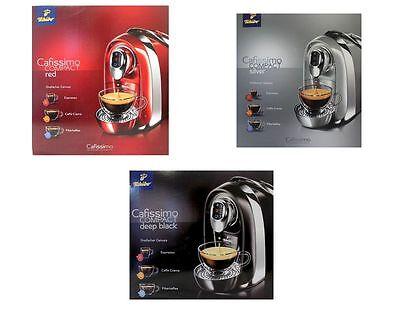 Cafissimo Compact Kaffeemaschine für Kapseln versch. Farben TCM / Tchibo NEU