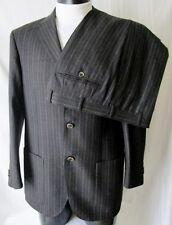 TREND CORNELIANI ABITO DRESS Vestito TG.48 Lana Vergine tonalità grigio GESSATO