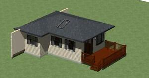 by Designerswest Small Home Plans 1080 sq.ft