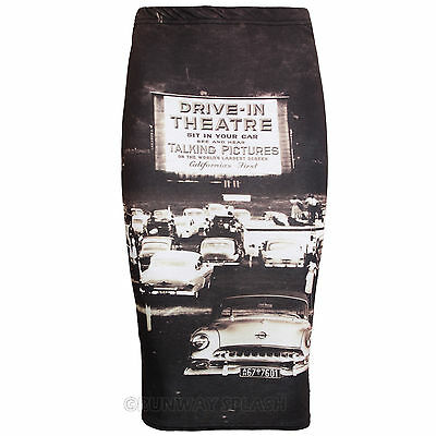 Bodycon Women Skirt Midi Pencil Plain Striped High Waist Tube Wiggle