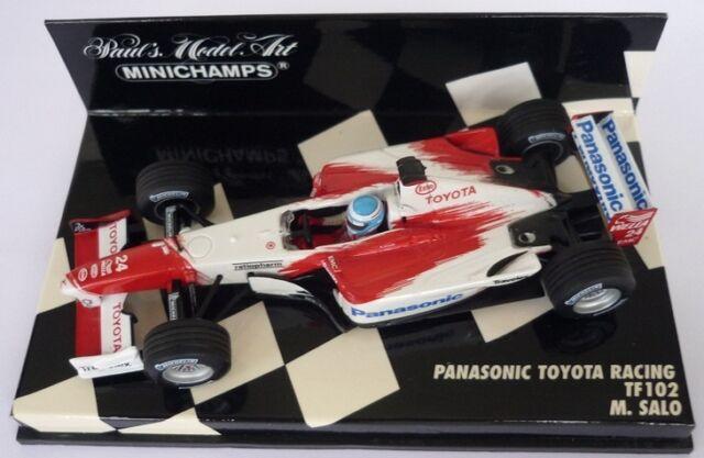 F1 1/43 TOYOTA TF102 SALO 2002 MINICHAMPS