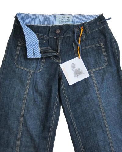 New Womens Blue Roll Up Crop NEXT Jeans Size 10 8 Long Regular